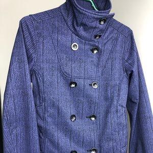 MEC • Purple Patterned Coat/Jacket • Size S